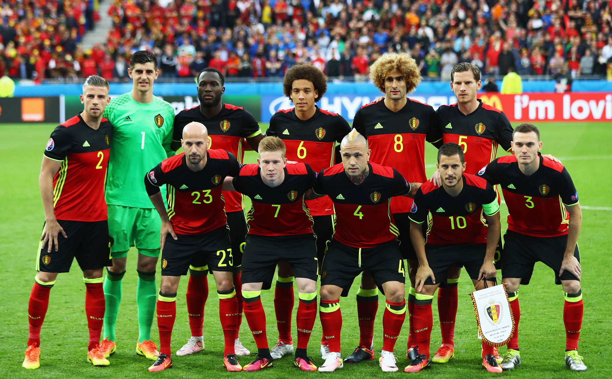 Belgium Football Team