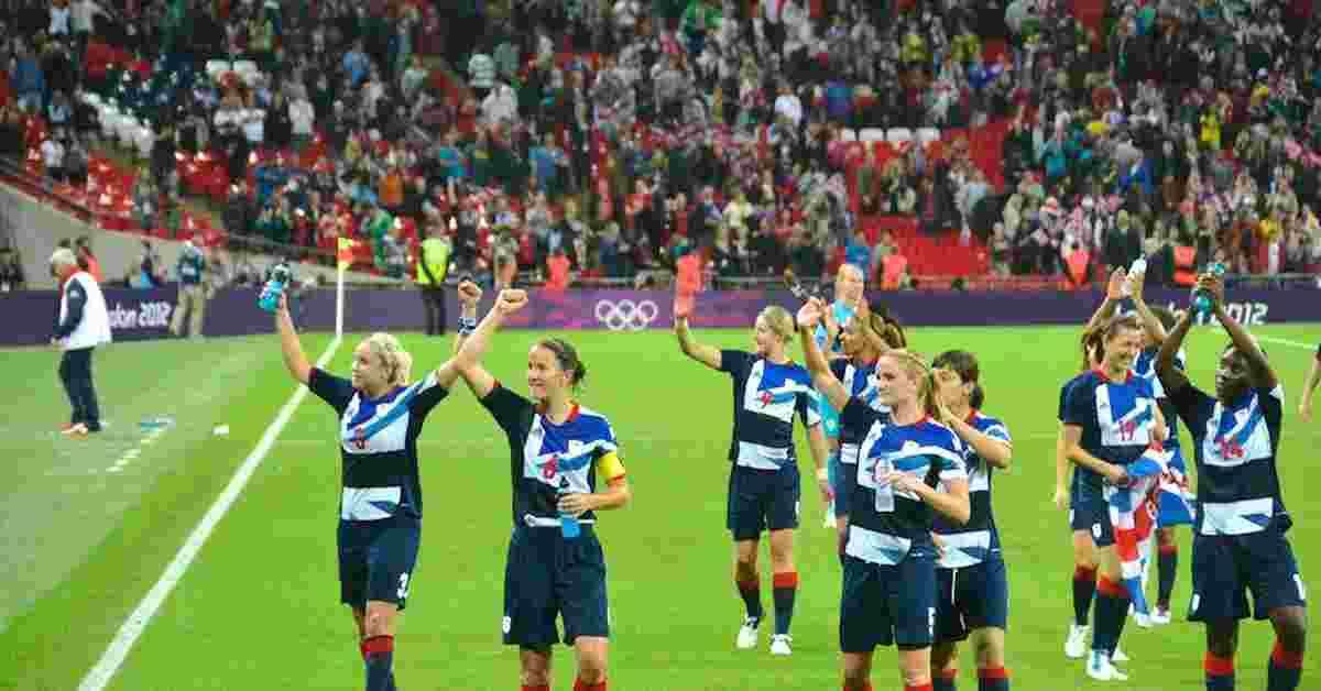 England_womens_football_Team_in_olympics