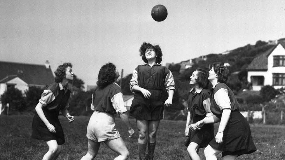Englad women's football Team History