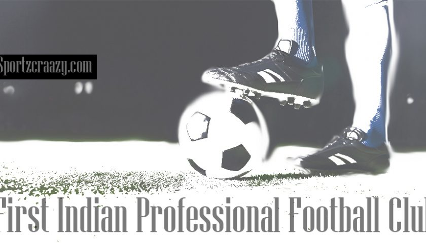 First Indian Professional Football Club