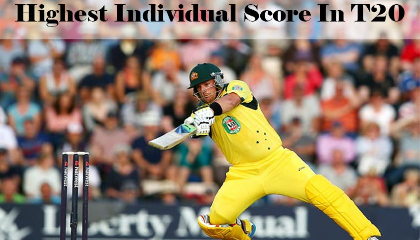Highest Individual Score In T20