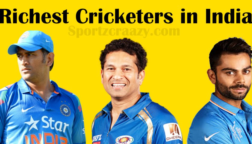 Richest Cricketers in India