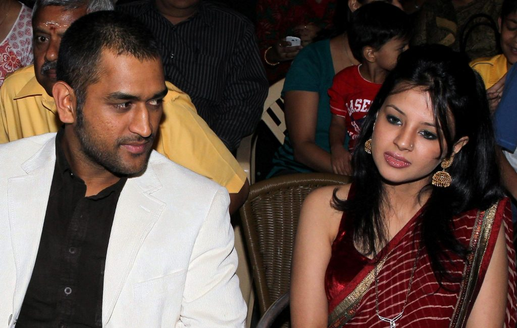 Sakshi and Dhoni love Story