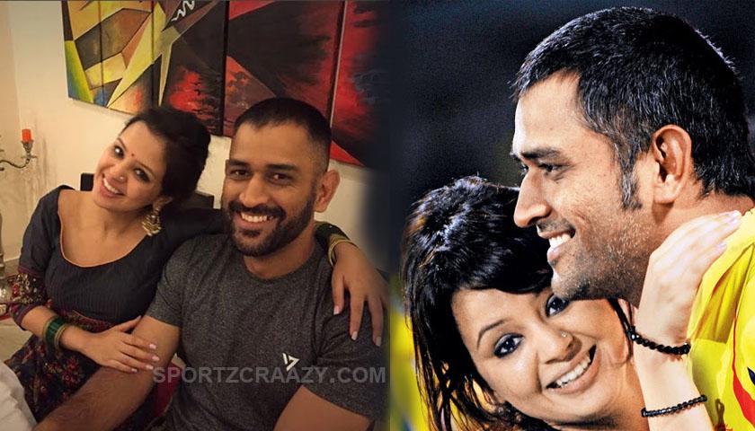 sakshi dhoni love story