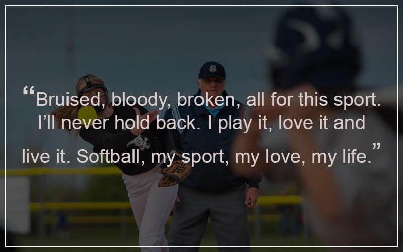 Softball motivational Quotes