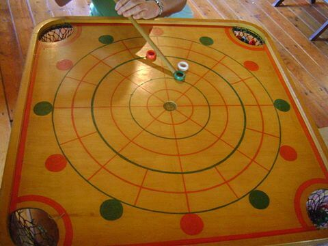 Different kinds of carom games