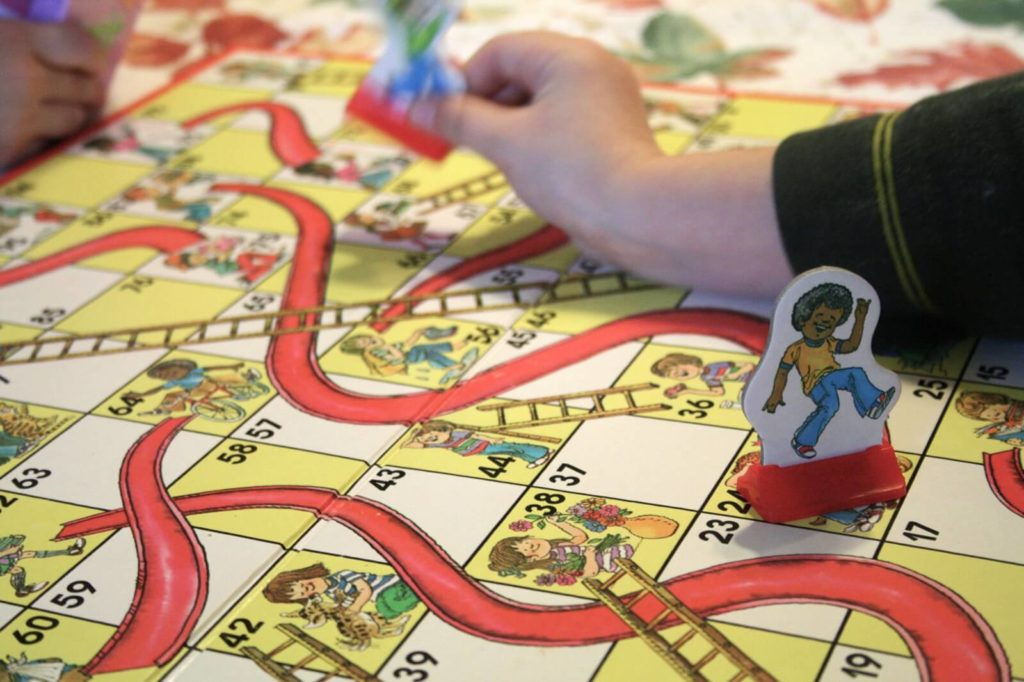 Elements of Snake and Ladder Game