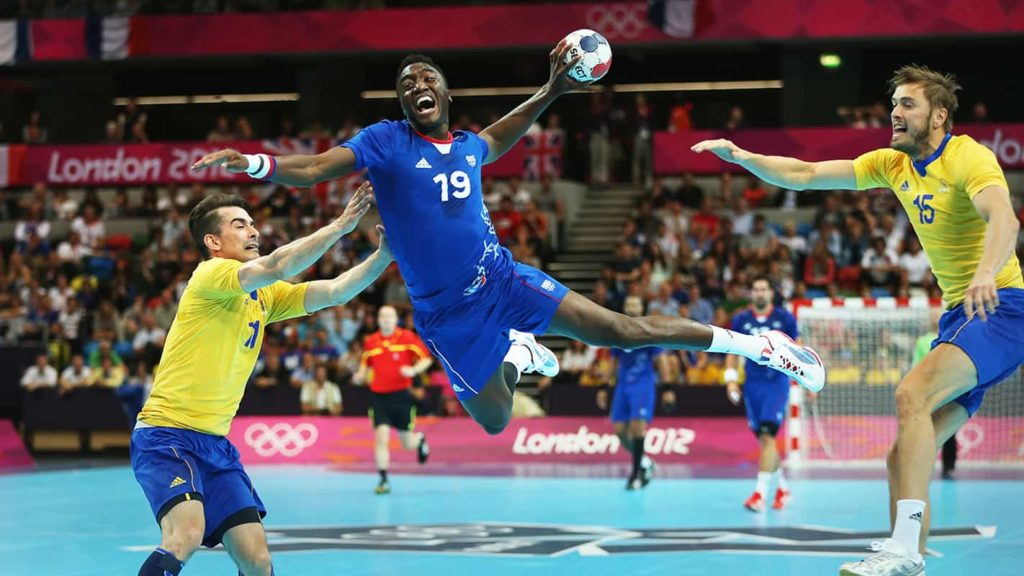 Handball game images