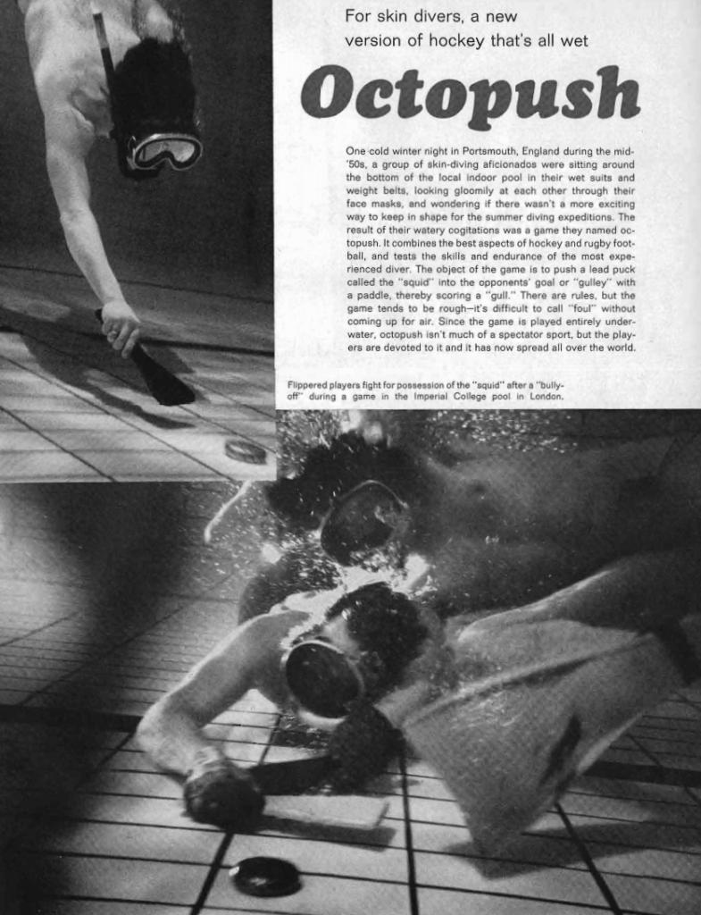 History of Underwater Hockey