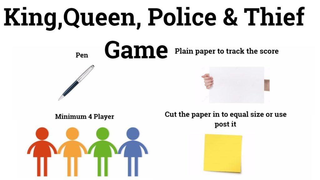How to Play Raja Rani Games