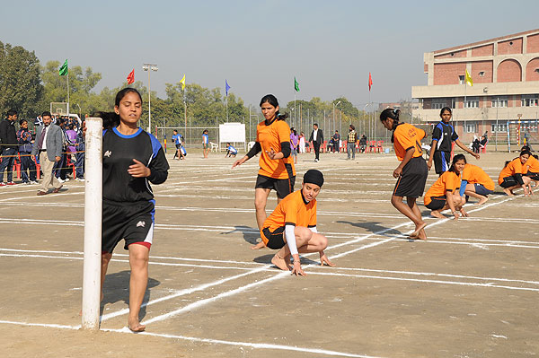 Kho Kho Players