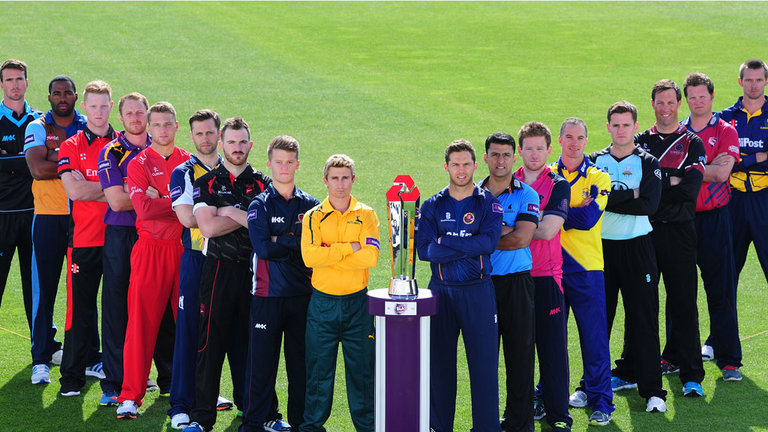NatWest T20 Blast League Teams