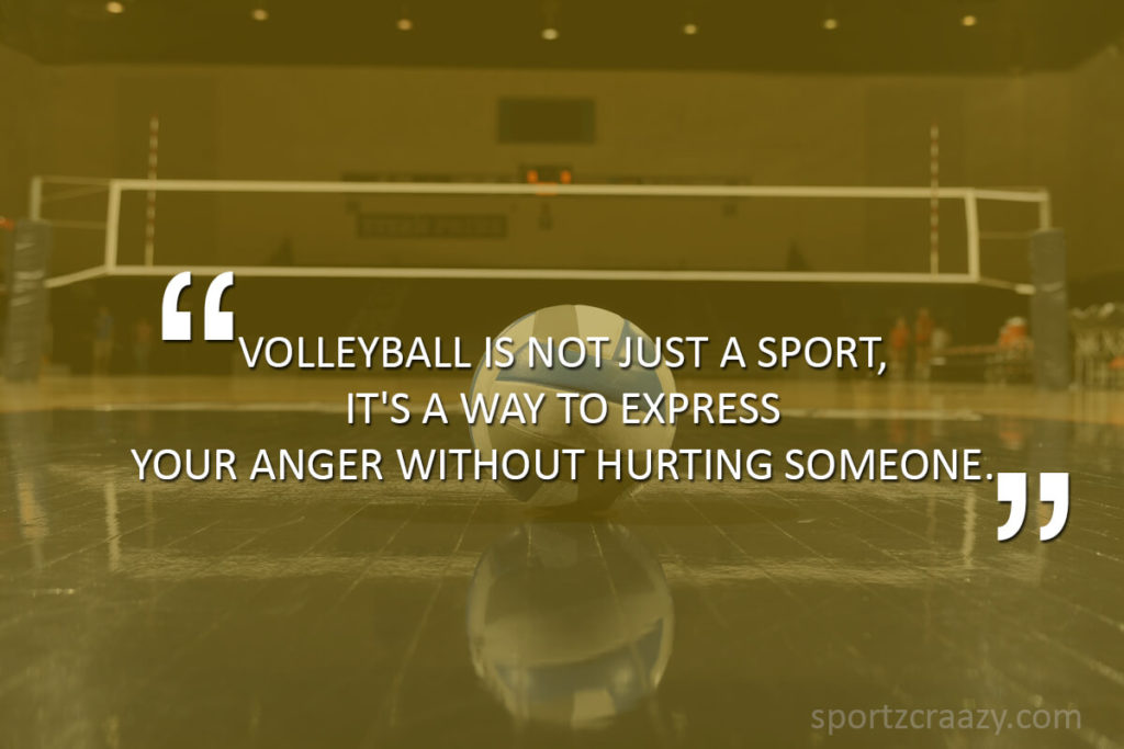 25 Best Inspirational & Motivational Volleyball Quotes & Sayings