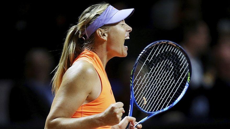 Sharapova comeback