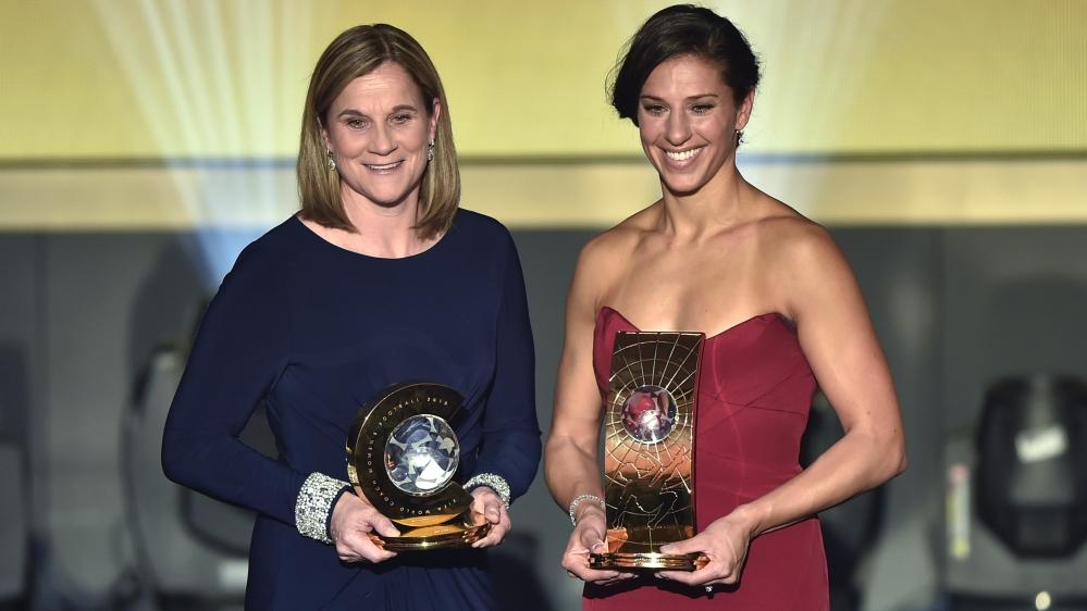 U.S. Soccer Athlete of the Year award