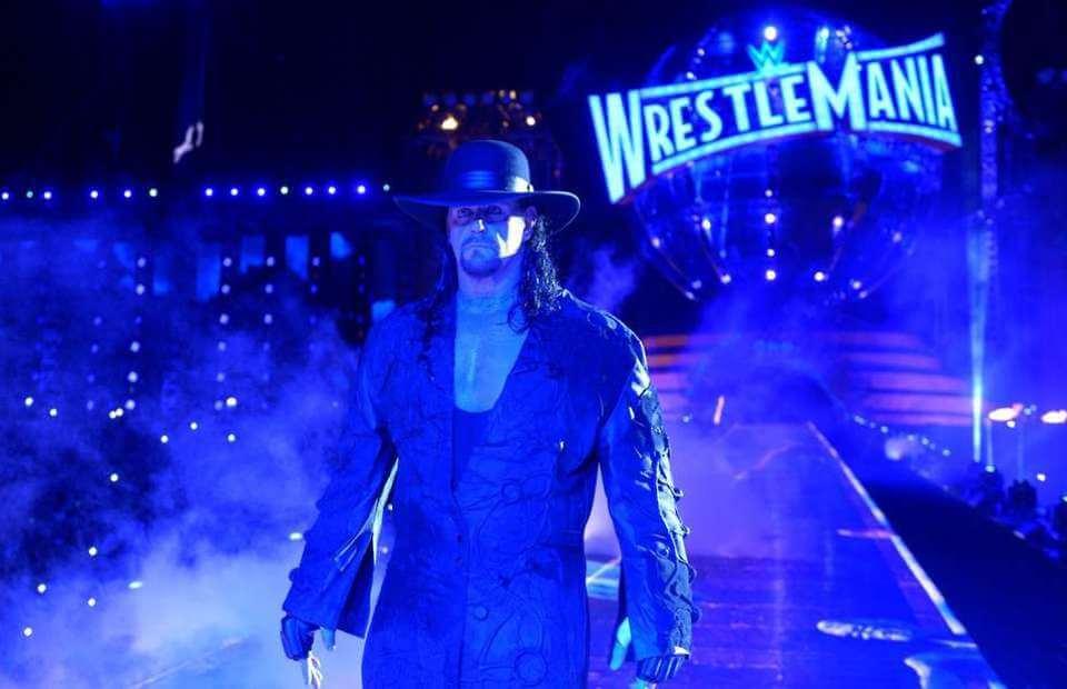 Undertaker in Wrestlemania