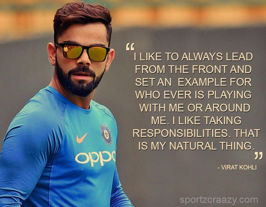 Quotes of Virat Kohli
