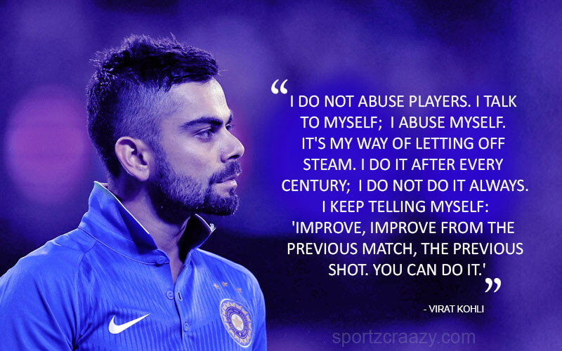 Virat Kohli Quotes that inspire