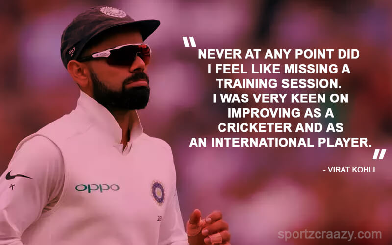 Virat Kohli Best Quotes