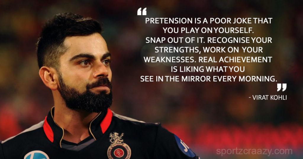 Virat Kohli Motivational Quotes