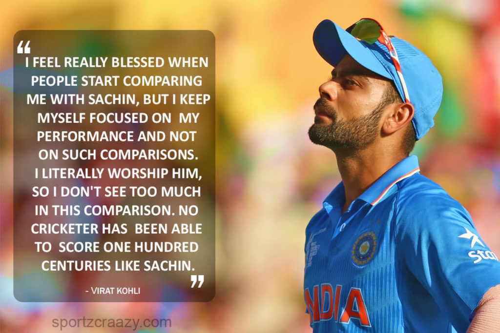 Virat Kohli Cricket Quotes