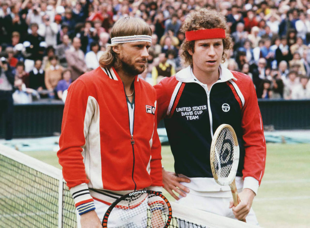 Bjorn Borg vs John McEnroe, finals 1980