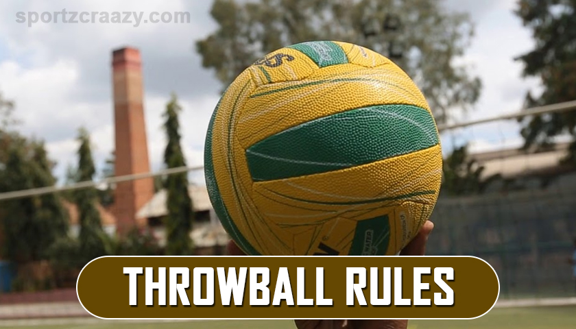Throwball Game Rules
