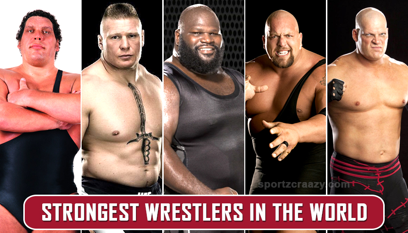 Strongest players from WWE