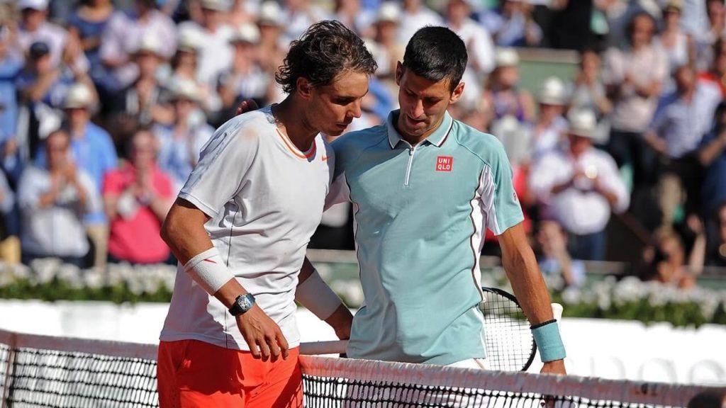 Rafael Nadal vs Novak Djokovic ,2013 Semifinals