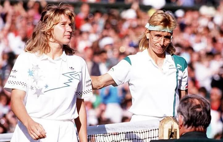 Steffi Graff vs Martina Navratilova, 1989 finals