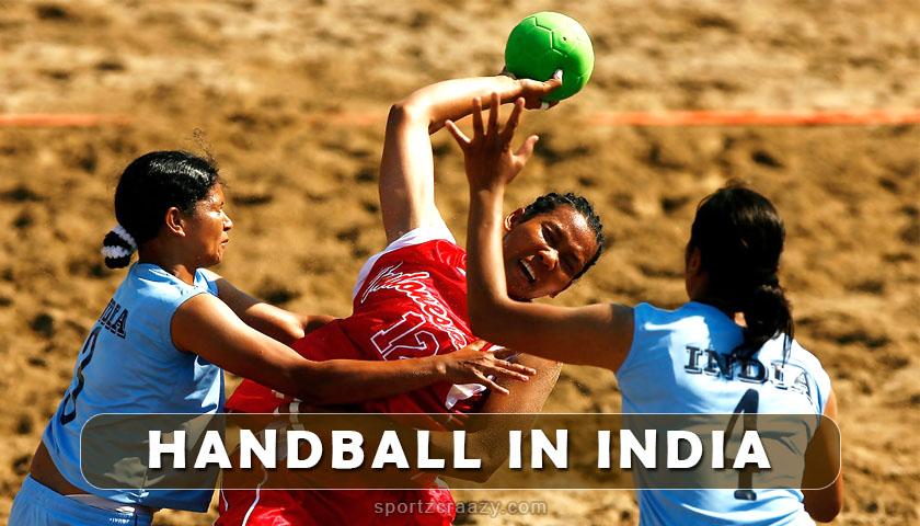 handball in india