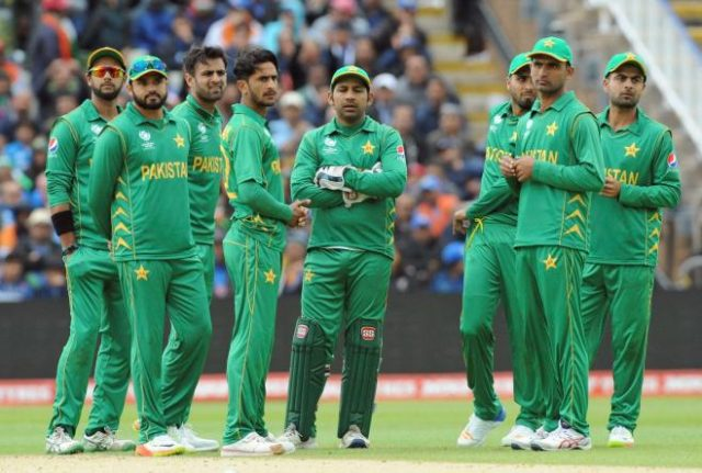 pakistan team 2018