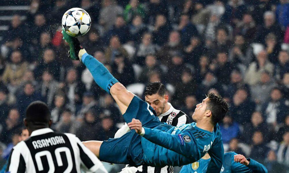 ronaldo flip kick