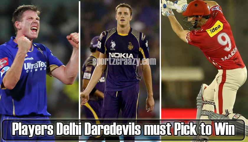 5 Players Delhi Daredevils must Pick to Win IPL 2019