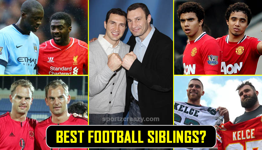 Best Football Siblings