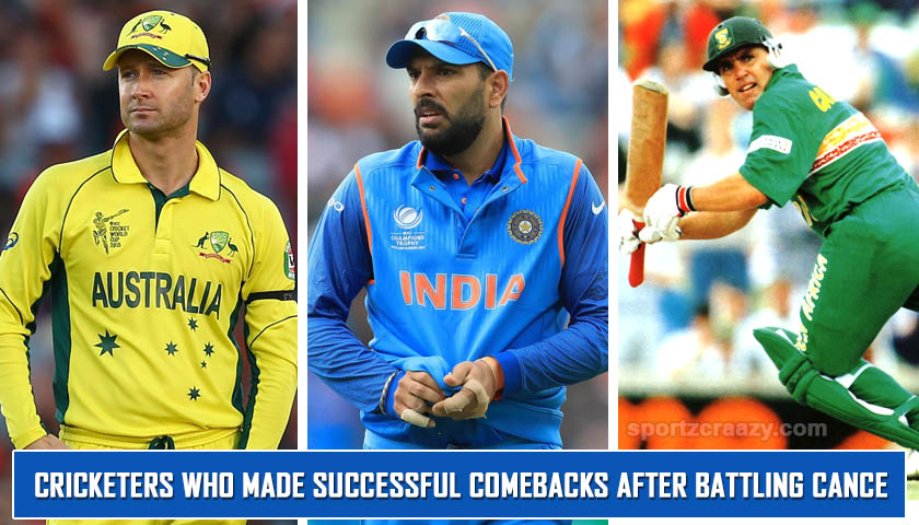 Cricketers who made Successful Comebacks after Battling Cance