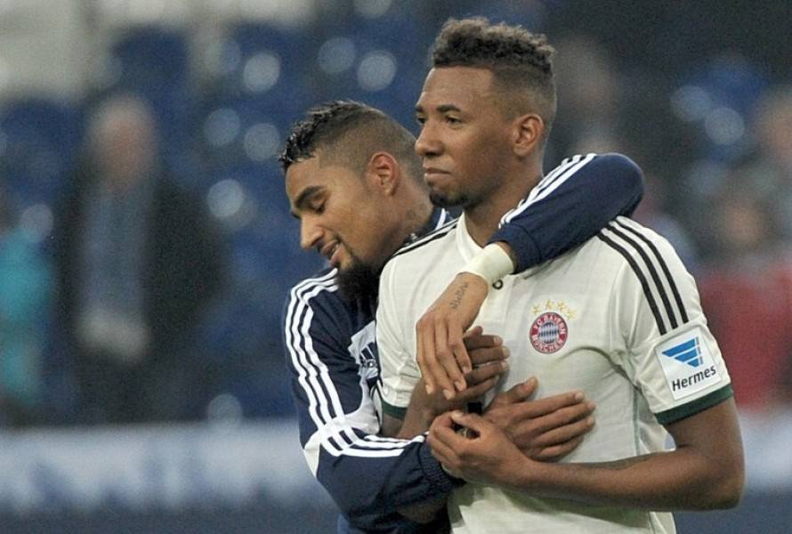 Jerome and Kevin Prince Boateng