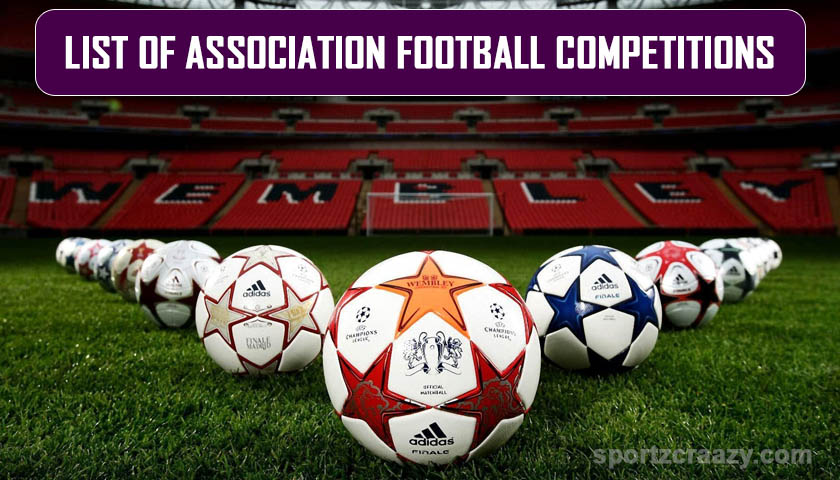 association football competitions