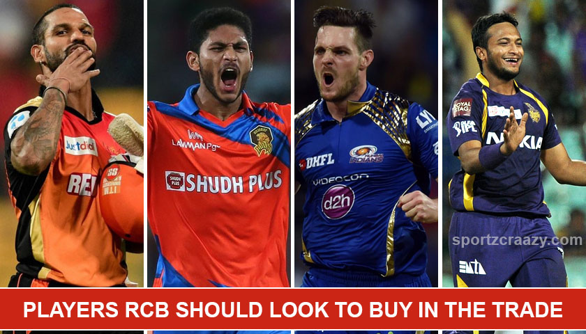 Players RCB should look to buy in the Trade