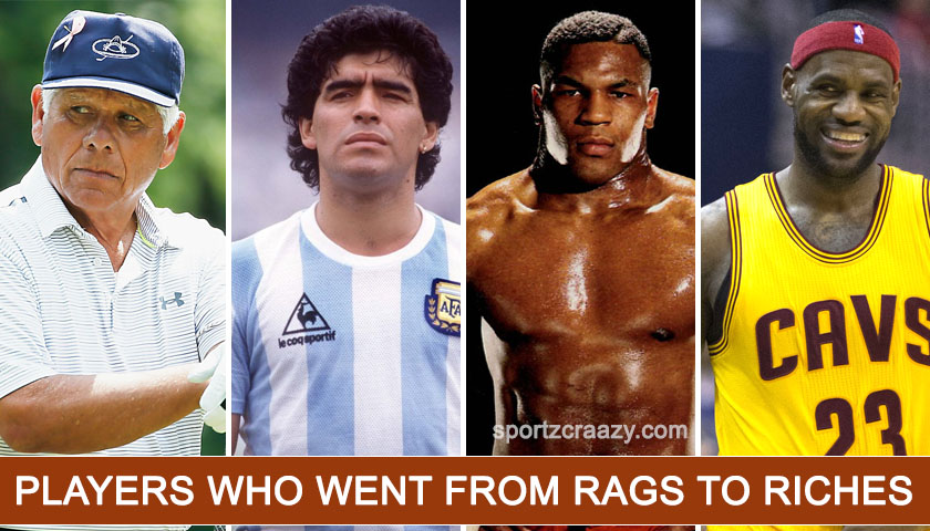 Players who went from Rags to Riches