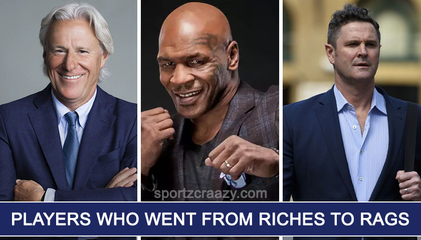 Players who went from Riches to Rags