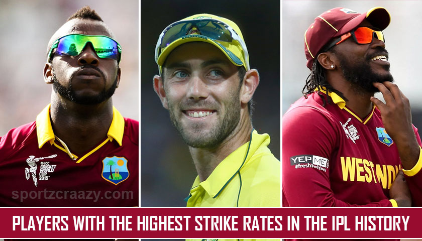 Players with the Highest Strike Rates in the IPL History