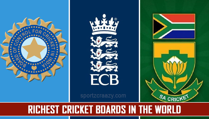Richest Cricket boards in the World