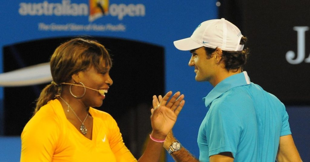 Serena Williams and Roger Federer Pics