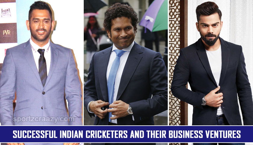 Successful Indian cricketers and their business ventures