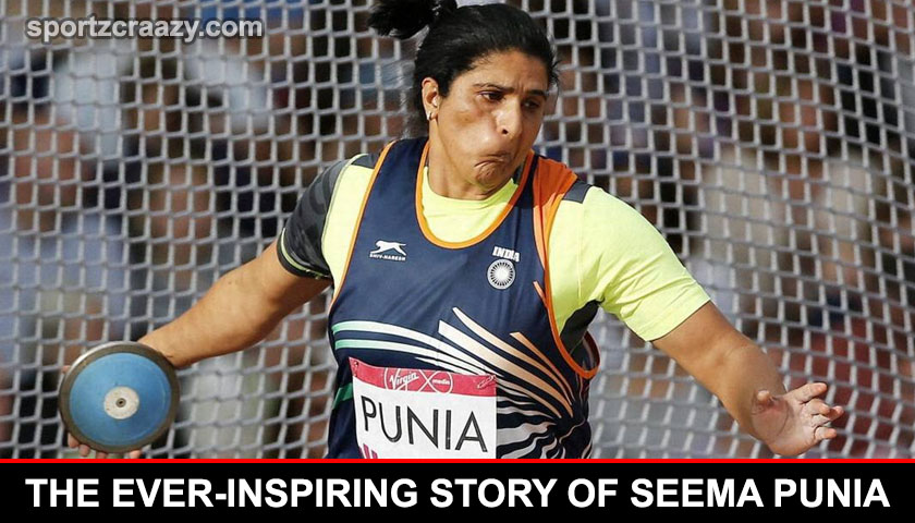 The Ever-Inspiring Story of Seema Punia