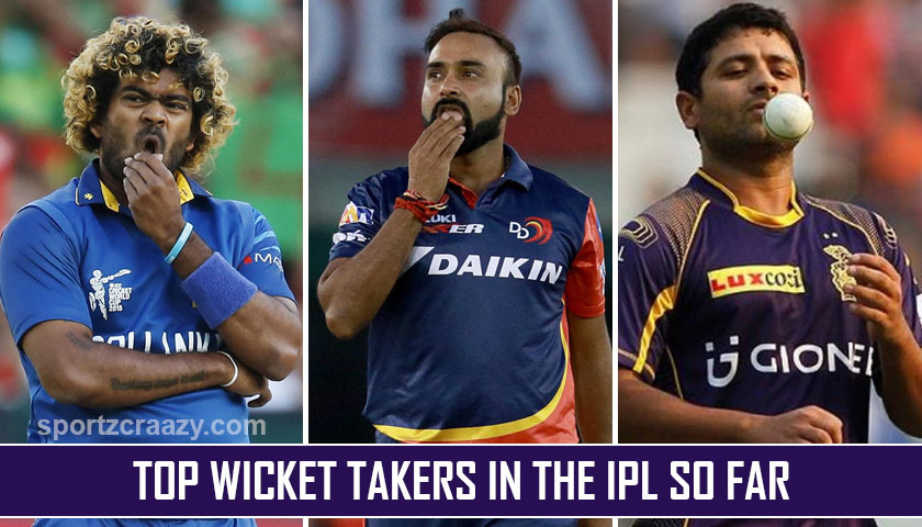 Top Wicket Takers in the IPL so Far