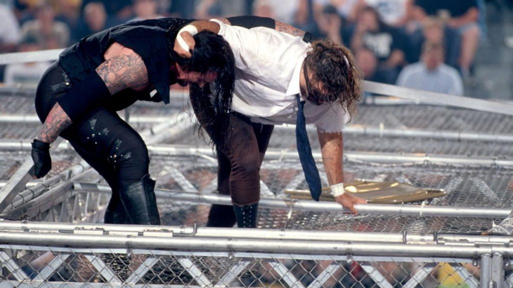 Undertaker vs Foley Match