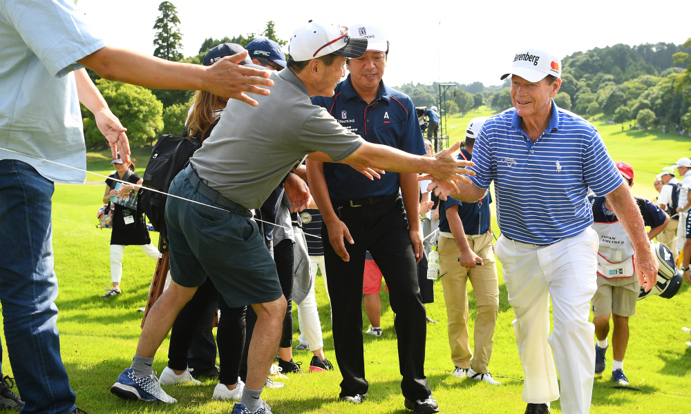 Format of the PGA Champions Tour