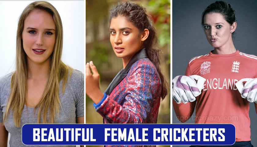 beautiful female cricketers